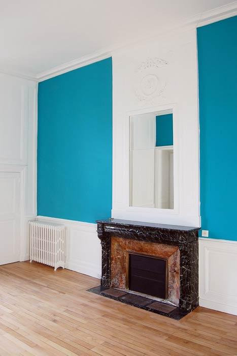 Rénovation d'un appartement - Cheminée, boiseries et moulures rénovation - Nantes 44