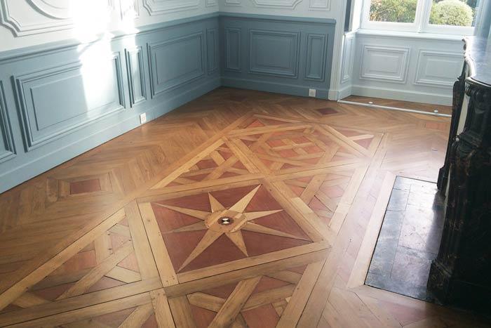 Detail du parquet & boiseries - chambre - Nantes 44