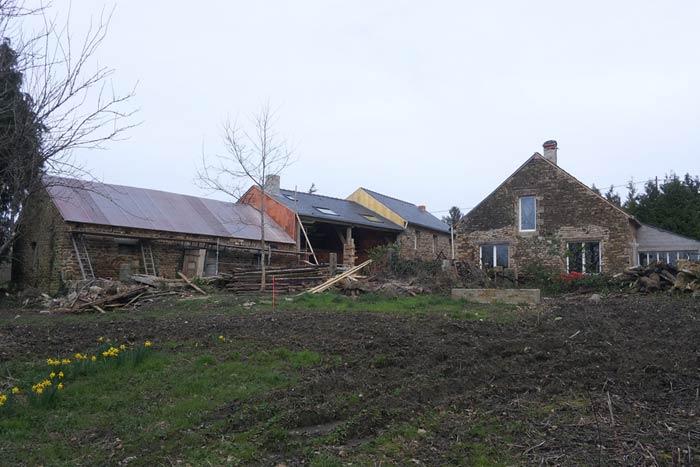 Restauration - Corps de ferme - Avant - Fouesnant 29