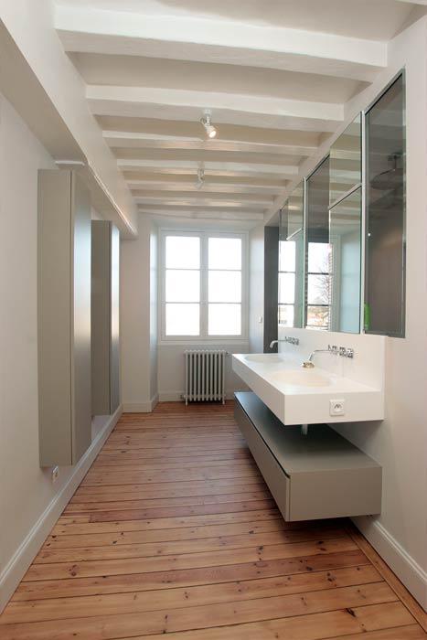 Rénovation - Salle d'eau avec verrière - Beaupréau 49