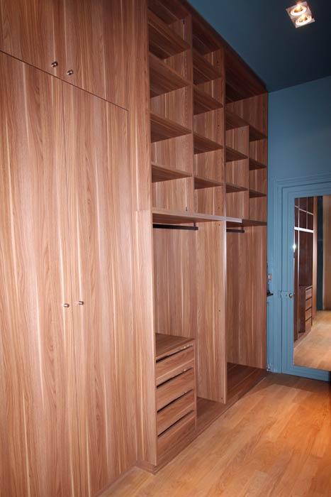 restauration d'un appartement - dressing sur mesure - Nantes 44