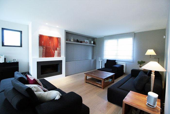 salon maison - rénovation - Vertou 44