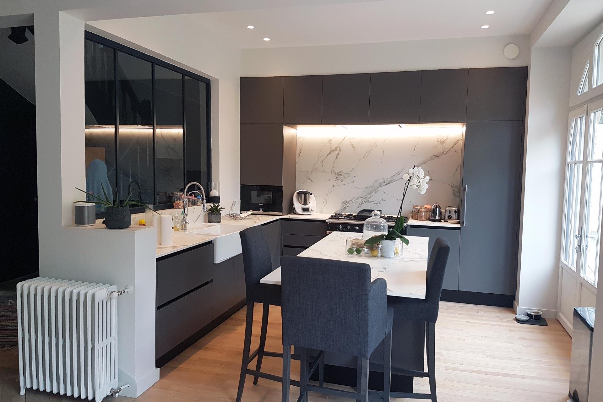Belle maison rénovée à Nantes - François Rousselin
