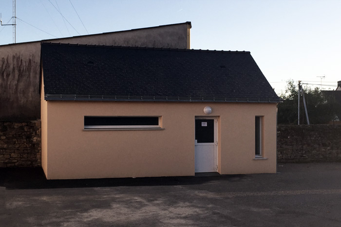 Bâtiment neuf sanitaires - Loire-Atlantique
