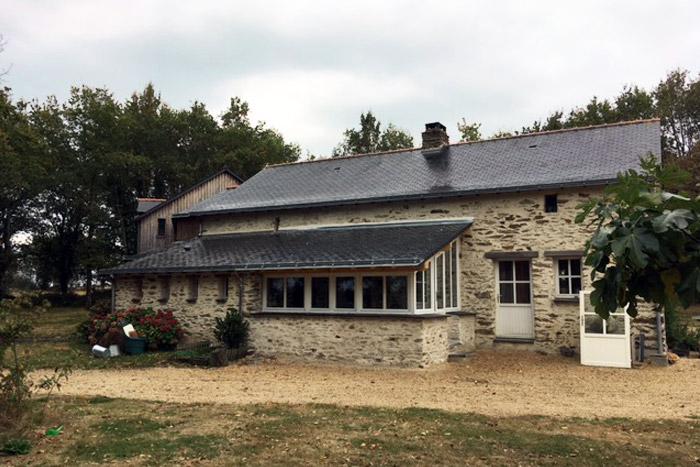 Extension style veranda