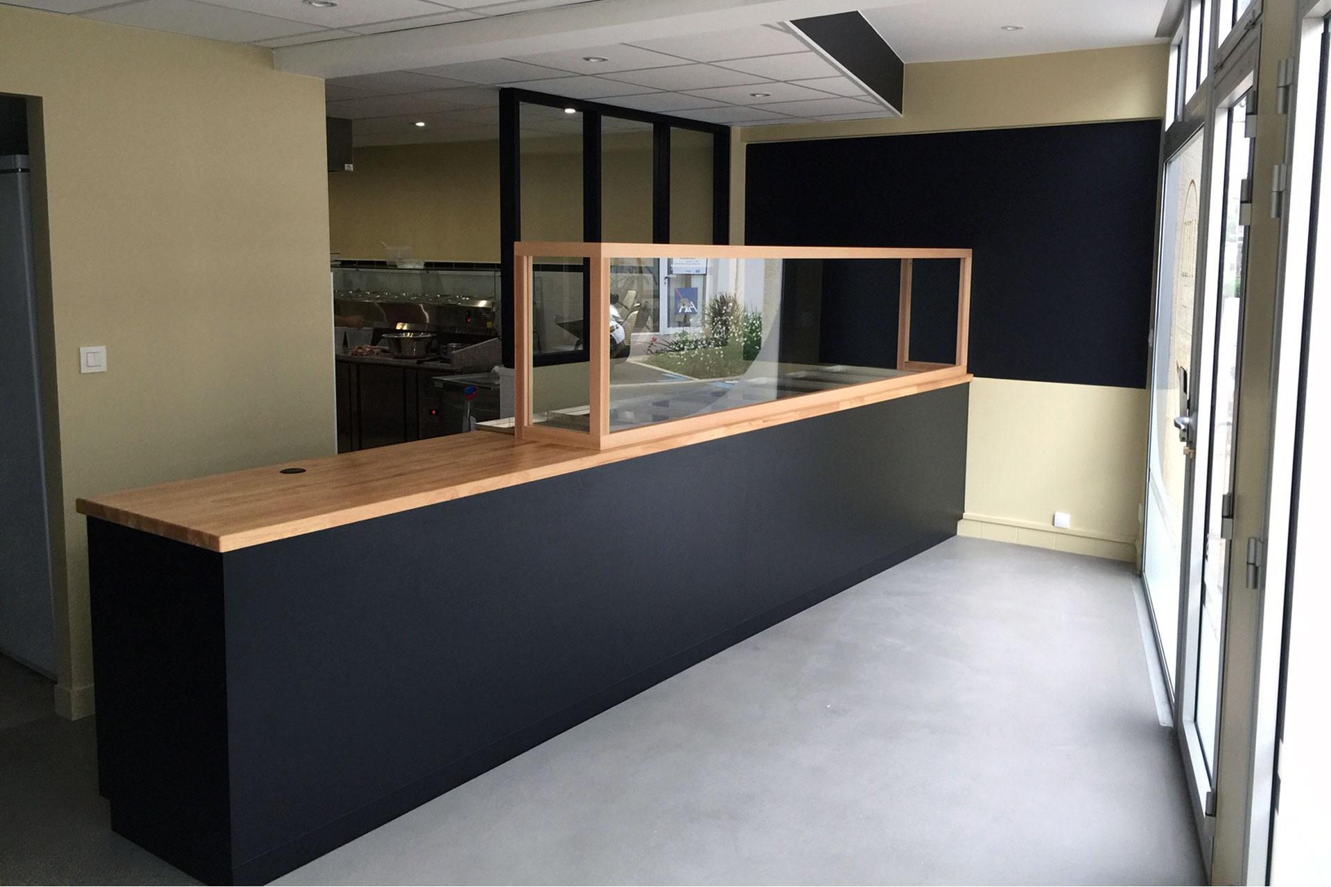 Fin de chantier - Rénovation restaurant 44