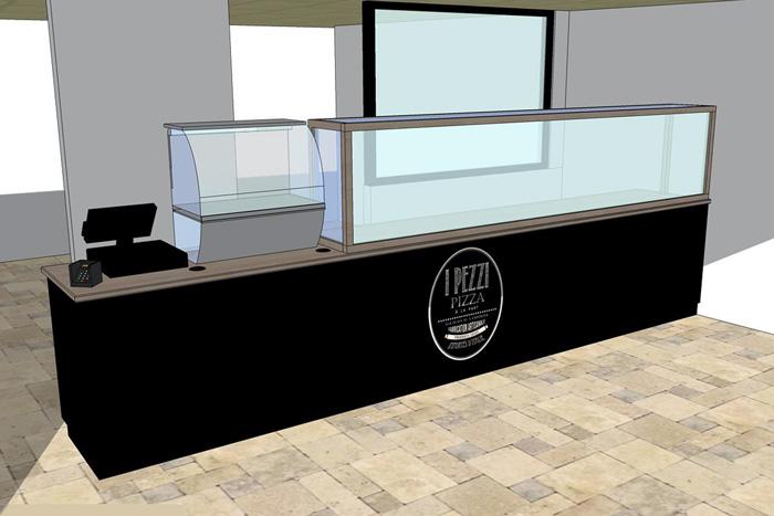 Comptoir sur-mesure - Rénovation restaurant 44