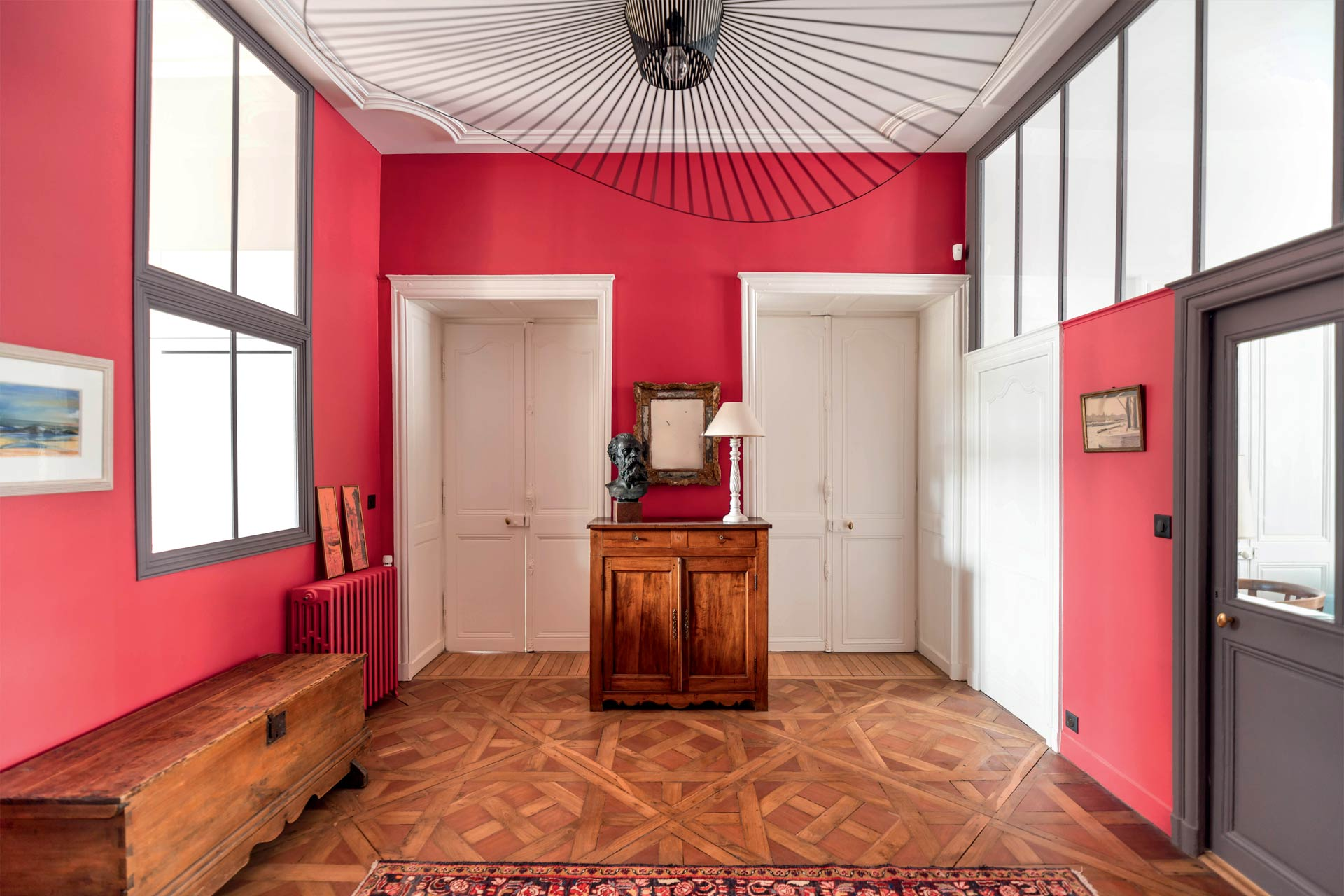 Entrée meublée grande friture - Nantes 44 - © Germain Durand