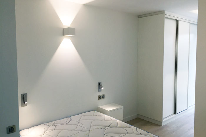 Chambre 1 - Métamorphose d'un appartement T2 en T3 - Architecture intérieure