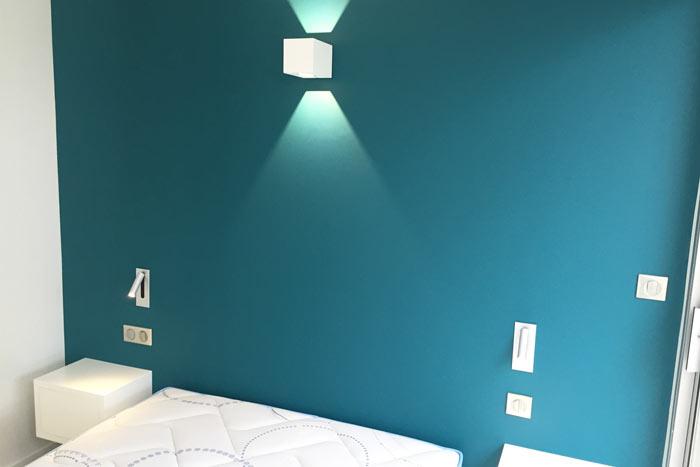 Chambre 2 - Métamorphose d'un appartement T2 en T3 - Architecture intérieure