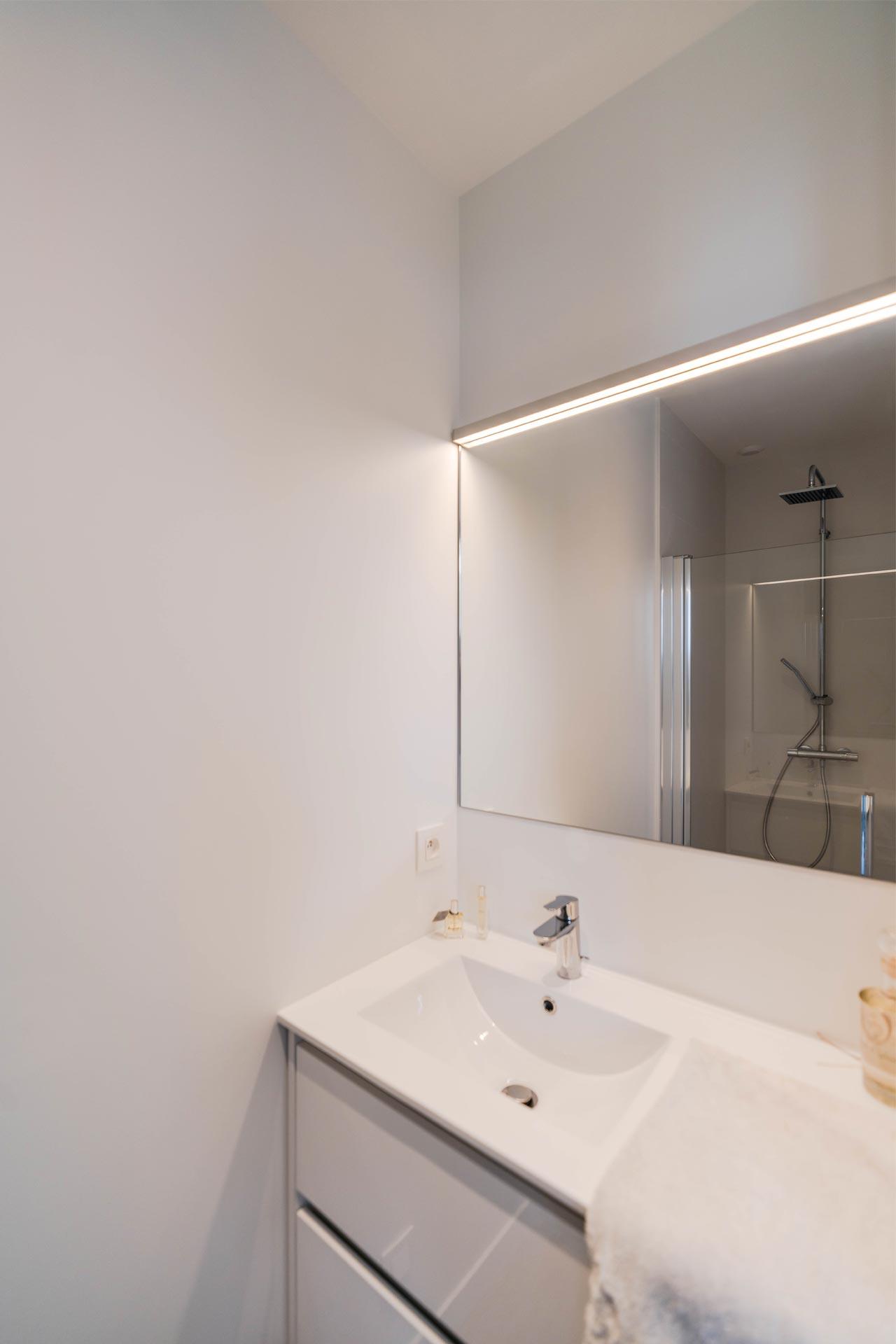 Salle d'eau - Chambre - Nantes