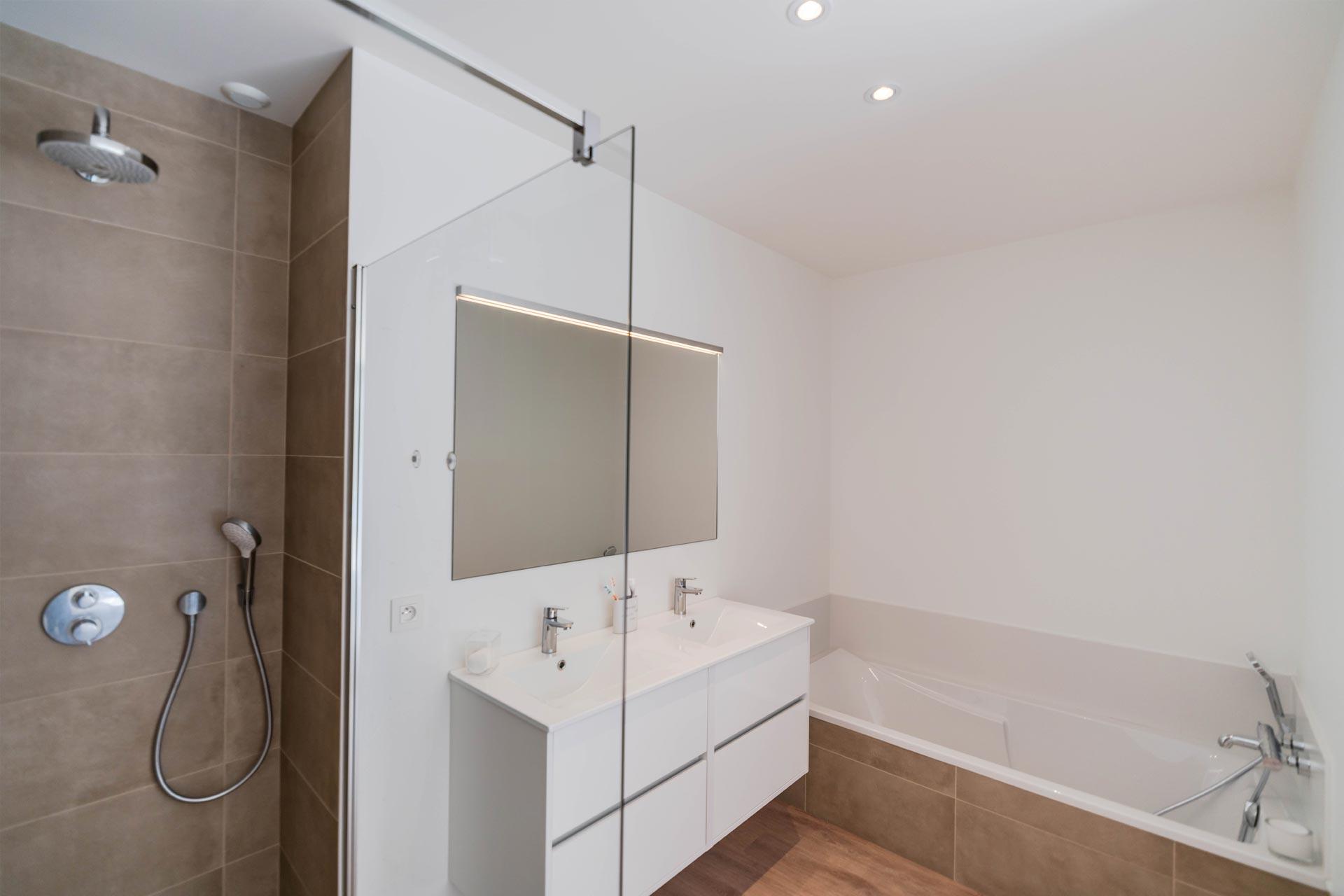 Salle de bain - Suite parentale - Nantes