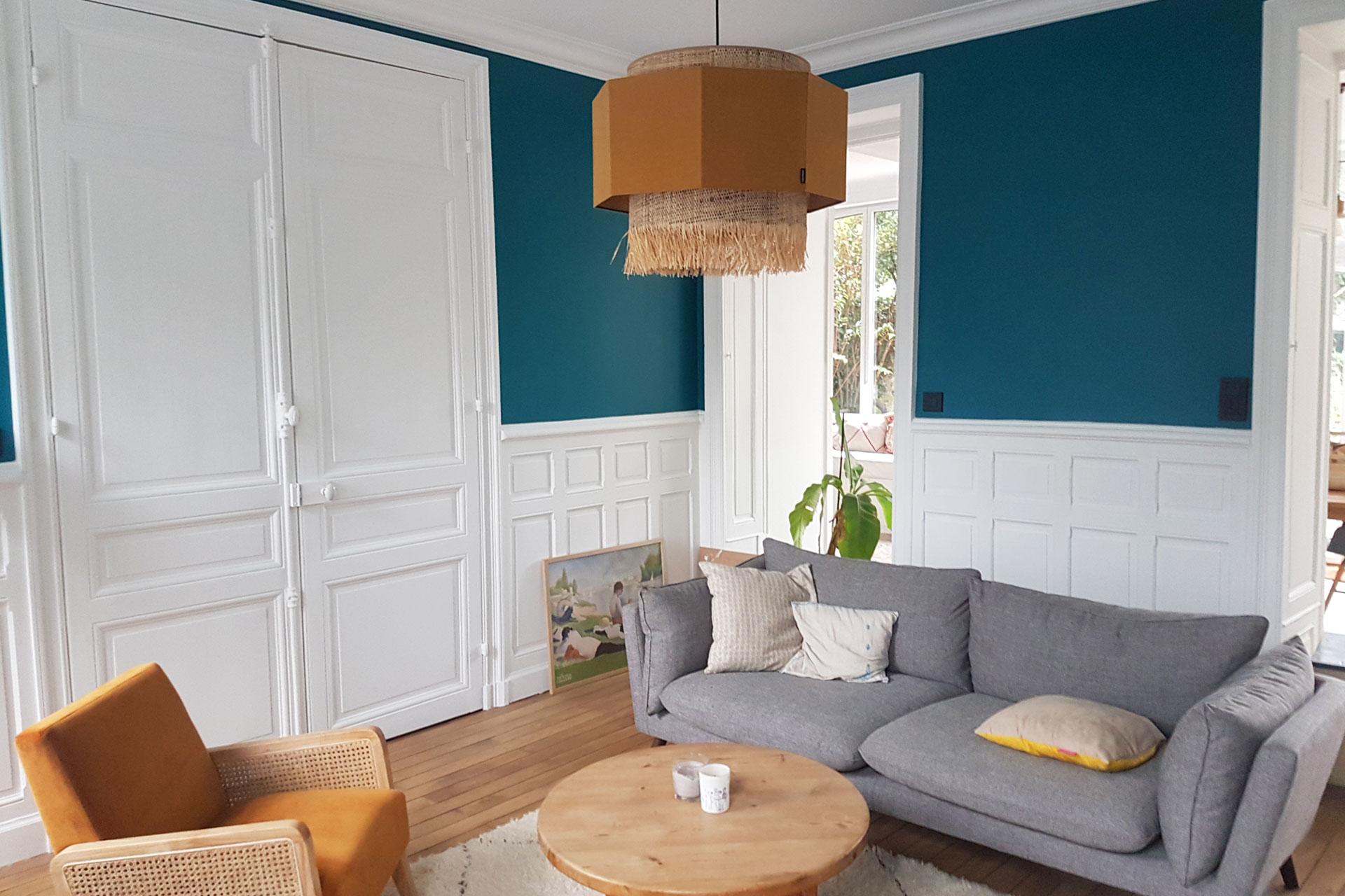 Boiseries basses - Rénovation totale maison Nantes