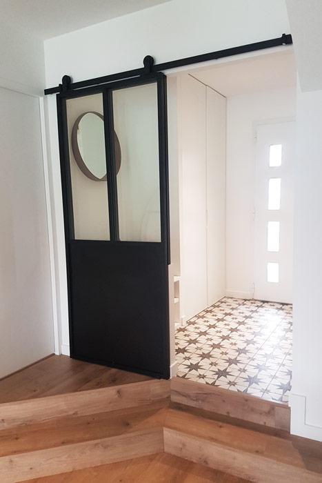 Création entrée - Verrière atelier - Loire-Atlantique