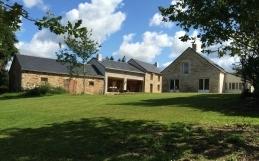 Rénovation d'un corps de ferme en maison familiale