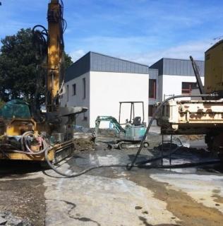 Reprise d'une installation géothermique défectueuse