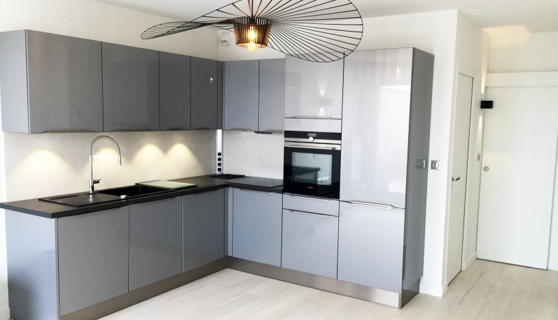 Rénovation d'un appartement T2 en T3 à La Baule