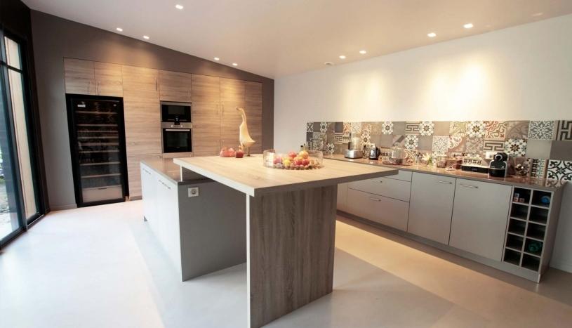 Extension bois et rénovation d'un espace de vie
