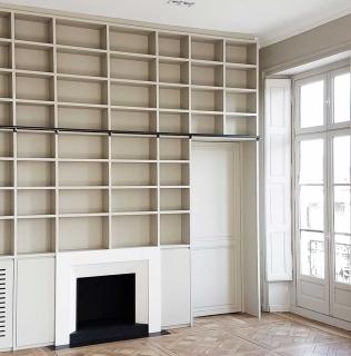 Métamorphose d'un grand appartement au cœur de Nantes