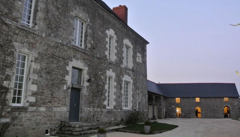 Un château du XVIIe siècle complètement transformé à Orvault